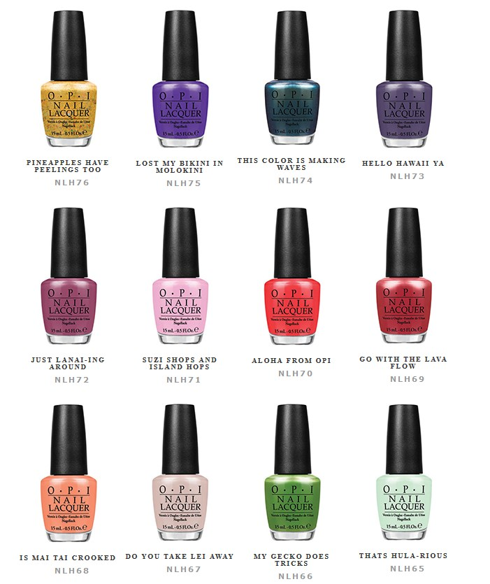 Hawaii Collection by OPI